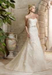MORI LEE 2781 / SIZE 12 / WAS £1350 / NOW £675