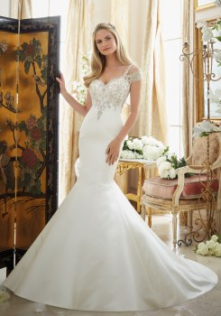 MORI LEE 2880 / SIZE 14 / WAS £1425 / NOW £480