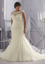 MORI LEE 3163 / SIZE 22 / WAS £1197 / NOW £420