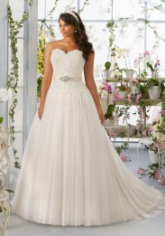 MORI LEE 3193 / SIZE 24 / WAS £1050 / NOW £525