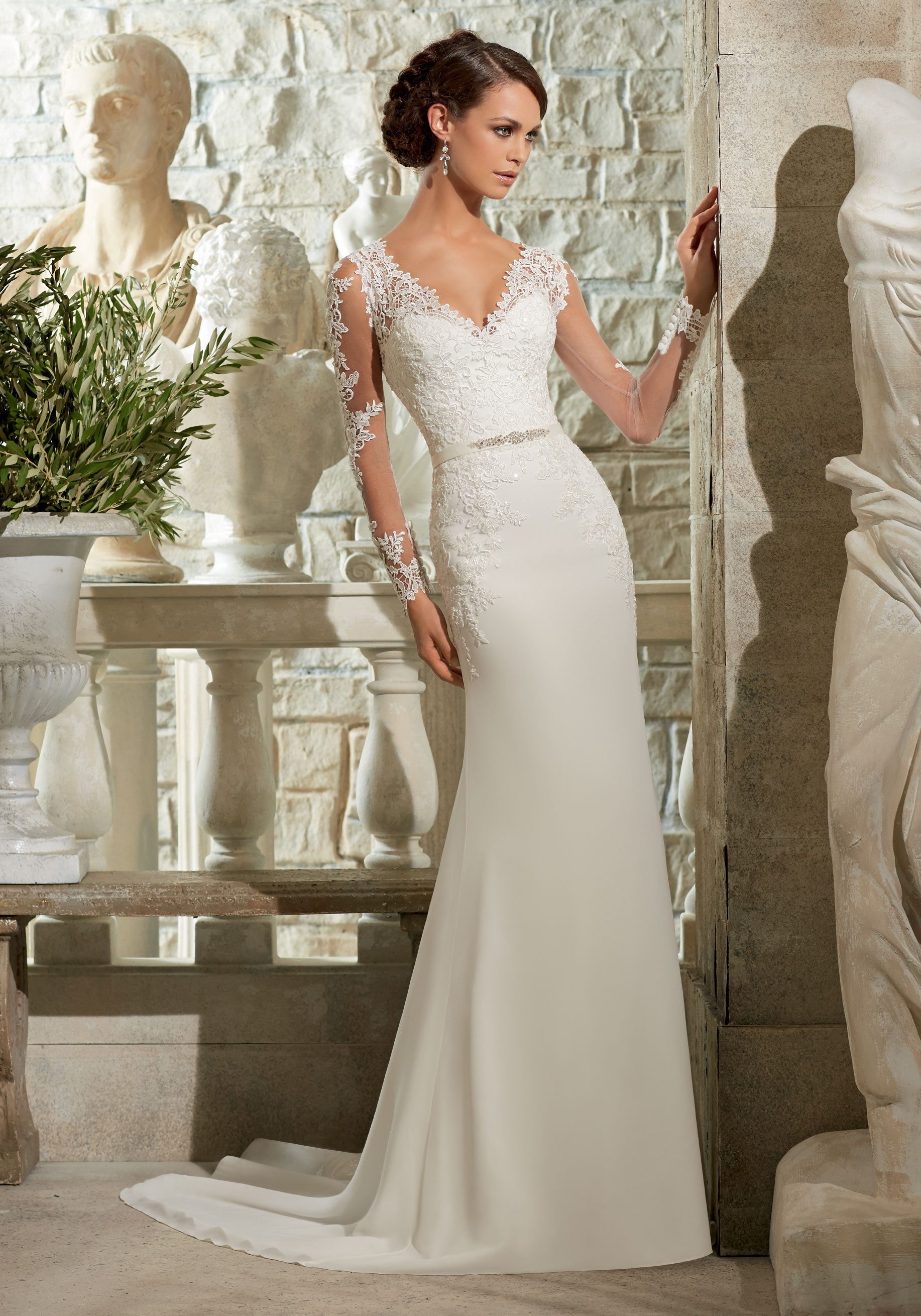 Mori Lee 2018 Wedding Dresse 2683