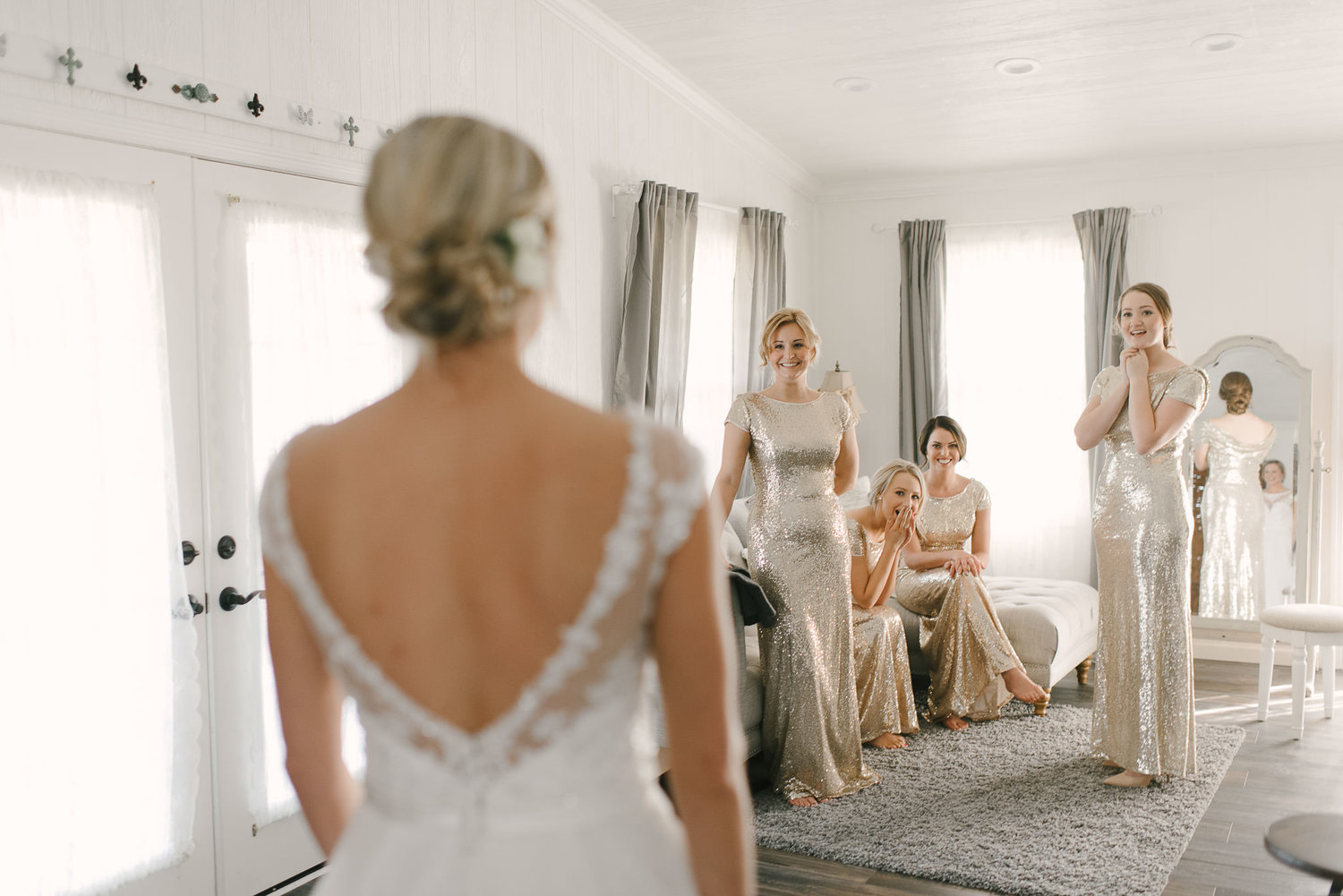 doing a first look with your bridesmaids – Amelia\'s Bridal Boutique ...