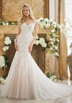 MORI LEE 2888 - SIZE 12 - WAS £1350 - NOW £500