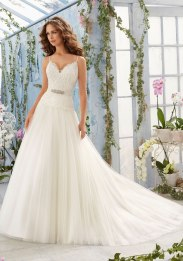 MORI LEE 5411 - SIZE 8 - WAS £1197 - NOW £300