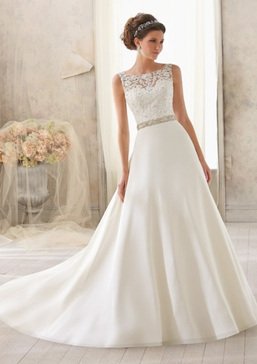 MORI LEE 5204 - SIZE 14 - WAS £1050 - NOW £250
