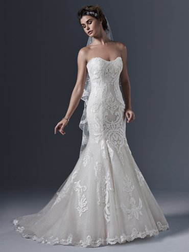 SOTTERO & MIDGLEY LOVAI - SIZE 16 - WAS £1240 - NOW £605