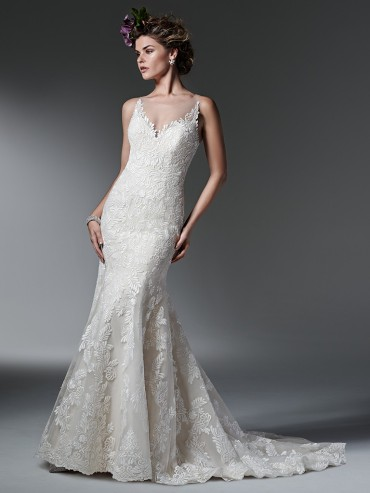 SOTTERO & MIDGLEY SILVIA - SIZE 10 - WAS £1425 - NOW £480