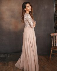 Maya_Bridesmaids_Long_Sleeve_Sparkle_Amelias_Bridal
